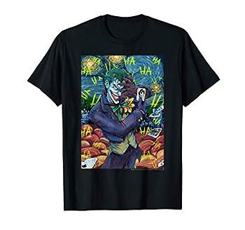 DC Comics The Joker Starry Night Style Portrait T-Shirt