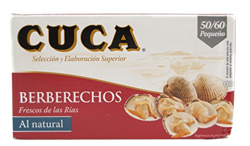 Cuca Berberechos Pequeños, 50/60 uds, 150g