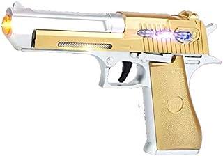 JOYSAE Desert Eagle Toy Pistol ,Special Pistol Toy ,with Flashing Lights & Sound,Durable Design, Non-Slip Handle, Lighting...