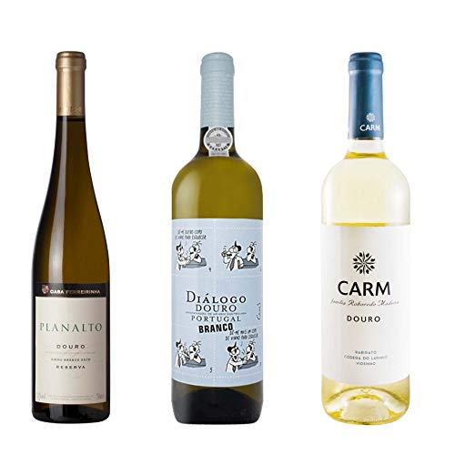 Vino Blanco Portugués Región Del Douro (3 Botelhas de 75 cl)