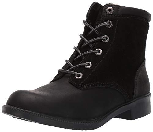 KODIAK Women's Original Fleece Ankle Boot, black, 8 M US