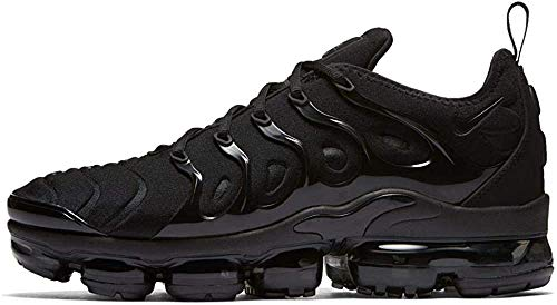 Nike Air Vapormax Plus, Sneakers Basses Homme, Noir Black/Dark Grey 001, 40 EU