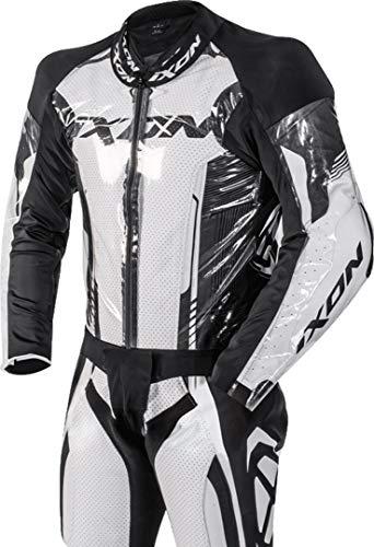Ixon Stream - Chaqueta de tela para hombre, transparente/negro, talla S
