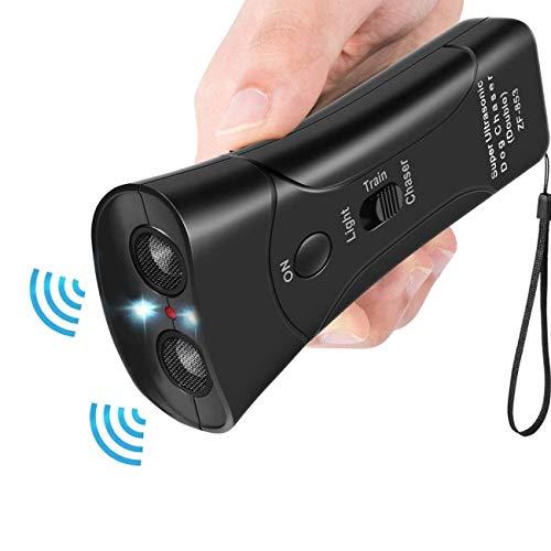 Ultrasonic Dog Repeller,Dog Bark Control Device,Handheld Dog Repellent,Anti Barking Deterrents Silencer, Electronic Dog