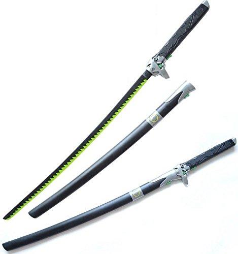 Vulcan Gear Genji Over Watch Replica Sword Prop Cosplay Newon Color