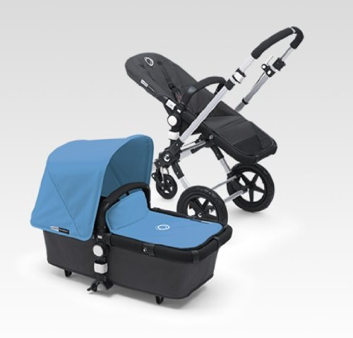 Bugaboo Cameleon 3 Stroller With New Extendable Sun Canopy (Ice Blue)