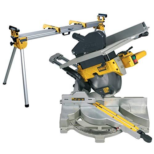 DEWALT - Scie à Onglets Radiale à Table Supérieure - D27112-QS - Scie Radiale avec Table en Aluminium - Vitesse 3300tr/min - Inclinaison de la Lame de 45° - Lame Ø305mm - 1600W