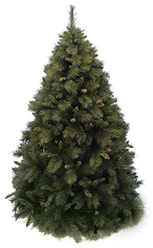 Salone Negozio Online Albero di Natale PALMALUX CM.240 Rami PVC AD Aghi Base CM.167 Interno/Esterno