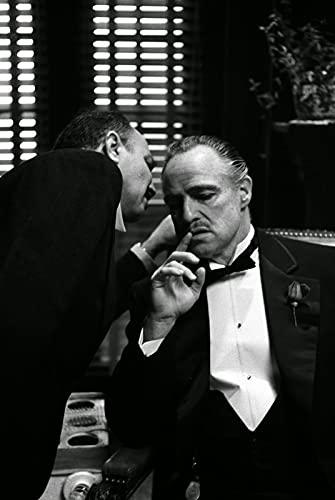 Bdgjln Rompecabezas Puzzle 1000 Piezas-Personaje de Cine y televisión Vito Corleone-Jocuri educative, potrivite pentru adulți și copii, Care fac față scenelor stresante-50x75cm