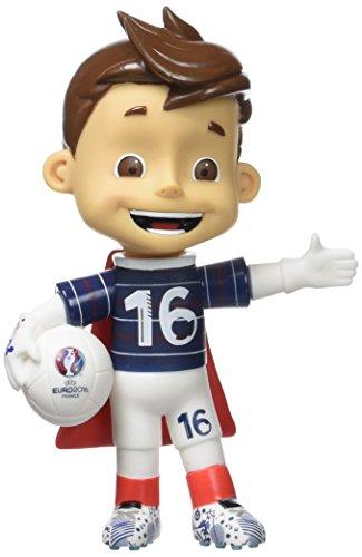 UEFA Euro 2016 - Statua in Vinile con Piede - Prodotto con Licenza Ufficiale della Mascotte 20 Cm