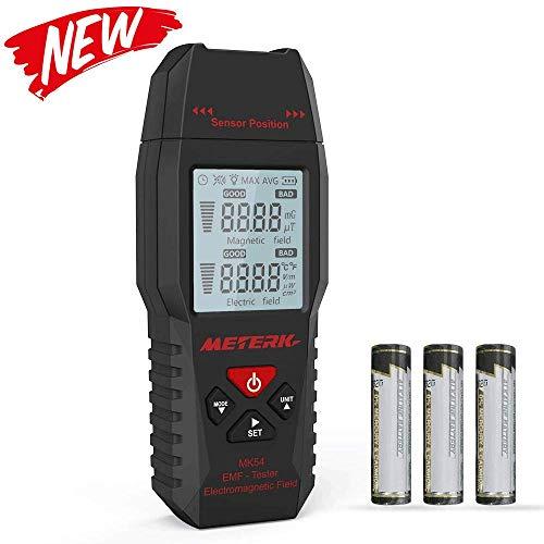 Medidor EMF,Meterk Handheld Mini Digital...