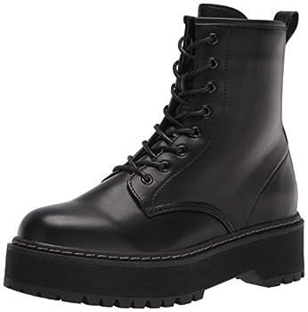 Steve Madden Women s Bettyy1 Combat Boot Black 9