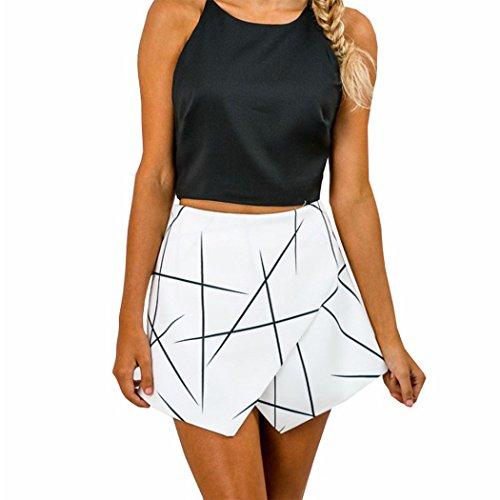 Sommer Bekleidung Damen Rock-Shorts Business Mini Anzughose Hotpants Unterrock Partyoutfits Streetwear