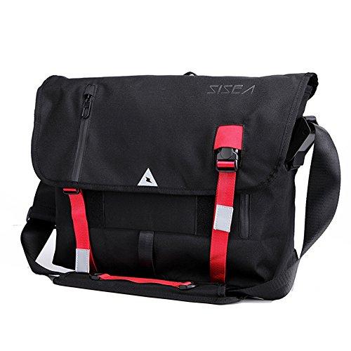 Outdoor Peak Sac à dos de vélo en nylon pour homme, sac à bandoulière, sac à main, sac à main, sac à dos, sac de sport, sac de loisirs, sac de voyage (multicolore)