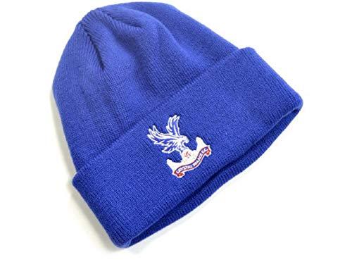 Official Football Merchandise Crystal Palace Bonnet en tricot – Bleu Roi
