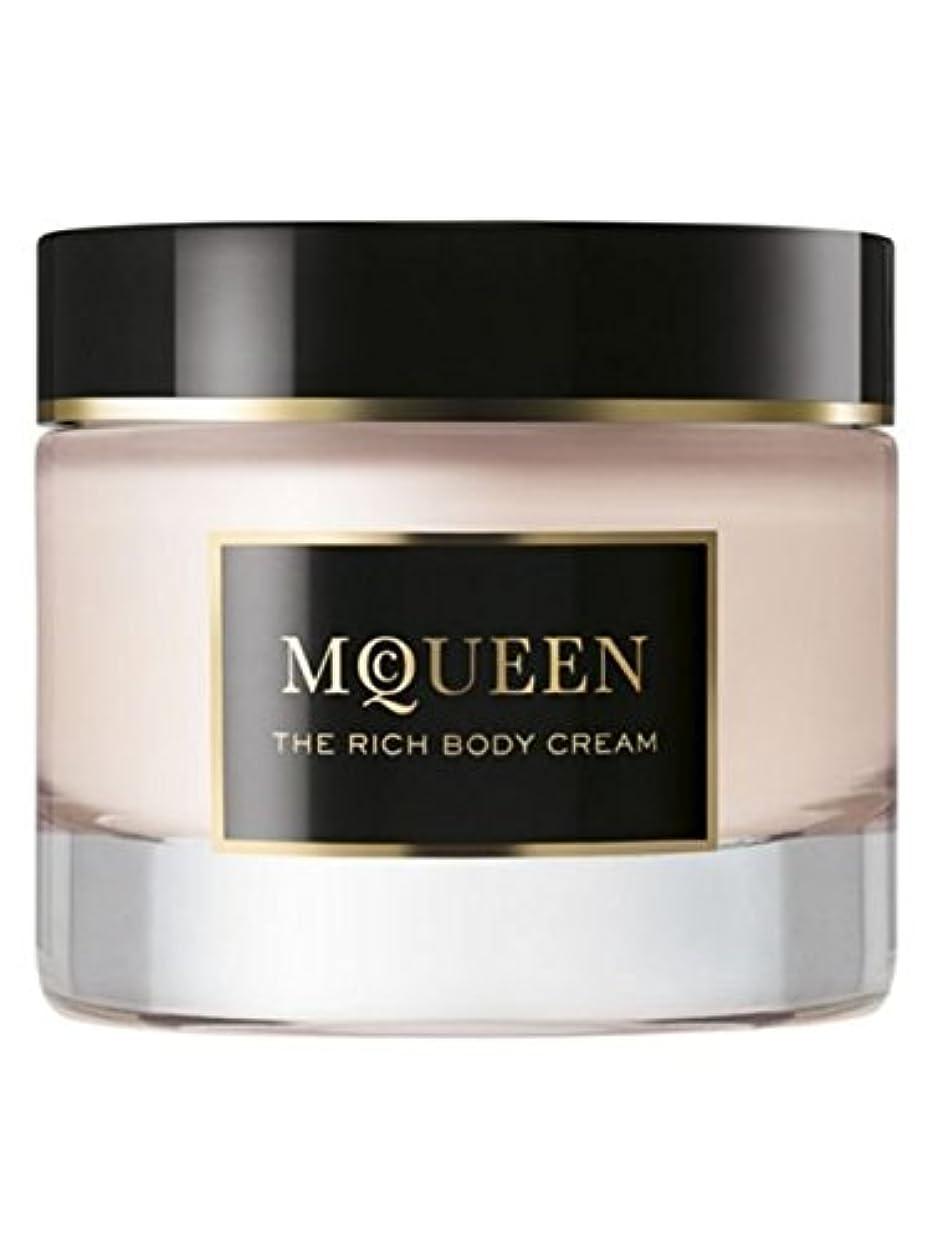 読書知覚純正McQueen (マクイーン) 1.6 oz (50ml) Body Cream by Alexander McQueen for Women