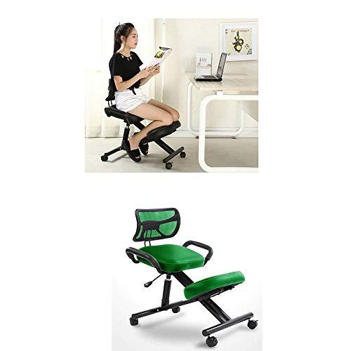 Youdan bureaustoel, draaistoel, ergonomische draaistoel, correctiestoel, studiotafel en stoel, verlicht de druk op de hals en ontspant de benen.