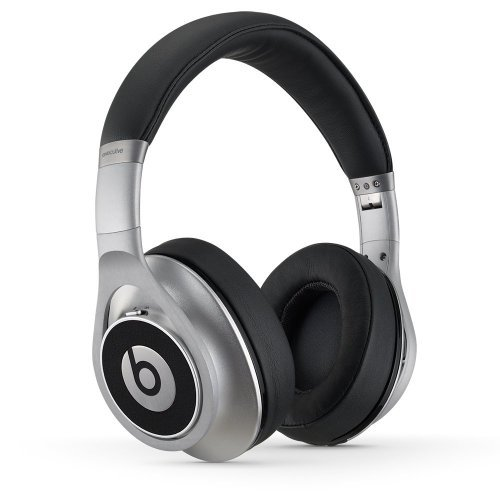 Beats Executive Wired Headphone - Silver (Renewed)