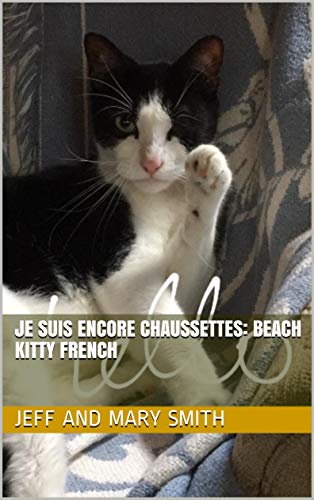 JE SUIS ENCORE CHAUSSETTES: BEACH KITTY French (Socks and Friends t. 2) (French Edition)
