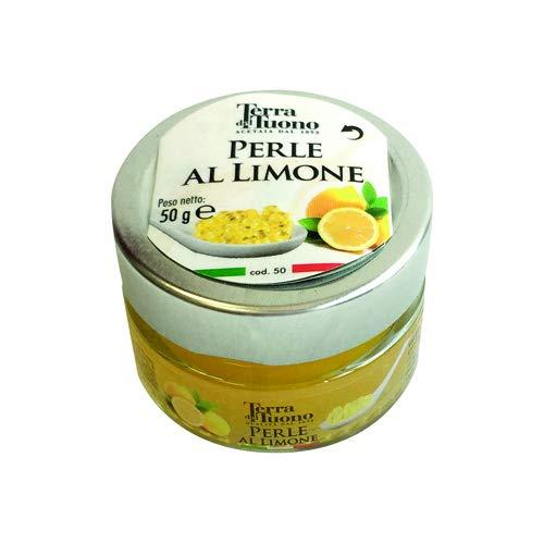 Perle di Aceto Balsamico di Modena 50gr Acetaia Terra del Tuono (Limone)