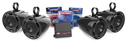 MTX Motorsports ORVKIT2 Tower 4-Speaker & Amplifier Off-Road Motorsports Package