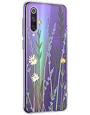Oihxse Mandala Flores Encaje Patrón Serie Case Compatible con Huawei Enjoy 8 Plus/Y9 2018 Funda TPU Silicona Suave Protector Ultra Slim Anti-Rasguño Transparente Carcasa (A9)