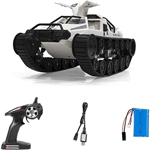 Moerc 1/12 Scale Drift Tank RC EV Vehículo rastreo 2.4G DRIFT RC Tanque Coche Alta velocidad Completo Control Proporcional Vehículo Modelo Juguete MNI-Direccional RC Coche Mejor regalo para Niños Niño