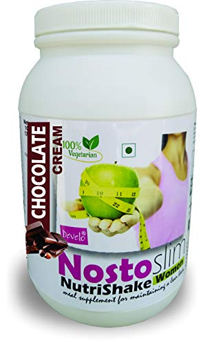 DEVELO NOSTOSLIM PROTEIN SUPPLEMENT POWDER FAT BURNER WEIGHT LOSS SLIMMING PRODUCT FOR WOMEN GIRLS CHOCOLATE 1020G