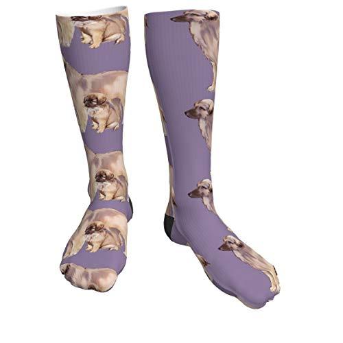Calcetines deportivos para madre y cachorro para hombres y mujeres, calcetines gruesos para correr, vuelo, viajes, montañismo