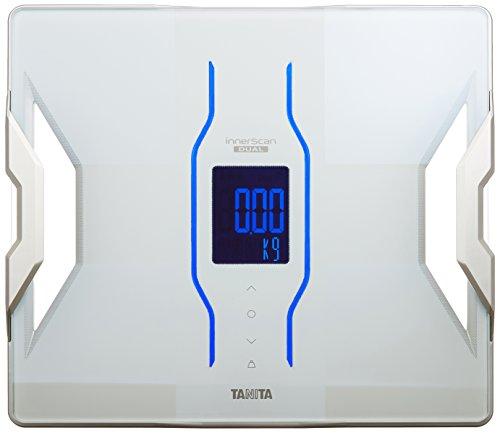 タニタ 体組成計 スマホ 50g 日本製 ホワイト RD-907 WH 医療分野の技術搭載/スマホでデータ管理 インナー...