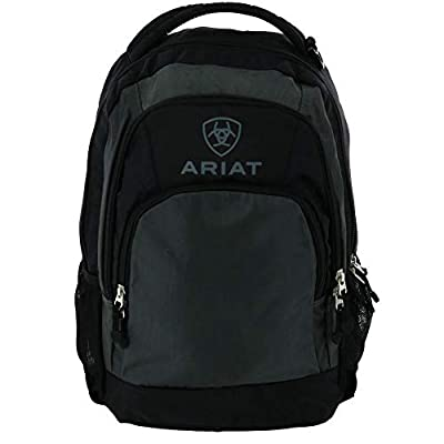 Ariat Unisex Classic Backpack Grey/Black One Size