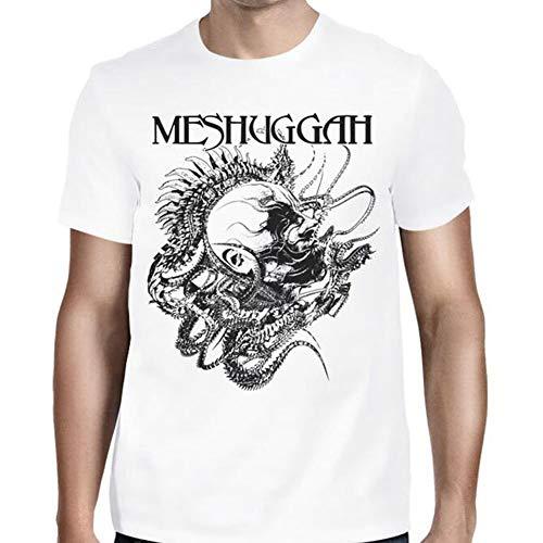 Das Dorn-Kopf-Coole Foto-Mode-Grafik-T-Shirt lustiger T-Shirt Meshuggah Männer