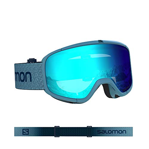 Salomon, Four Seven, Máscara de esquí unisex, Azul/Universal Mid Blue, L40844000
