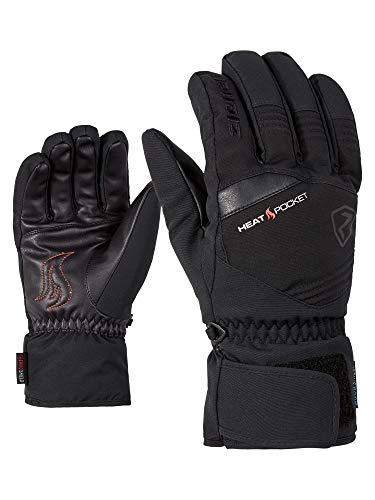 Ziener Herren Glim AS(R) Glove Alpine Ski-Handschuhe/Wintersport | Wasserdicht, Atmungsaktiv, Black, 8.5