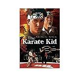 BUJI The Karate Kid American Classic Movie Poster Canvas