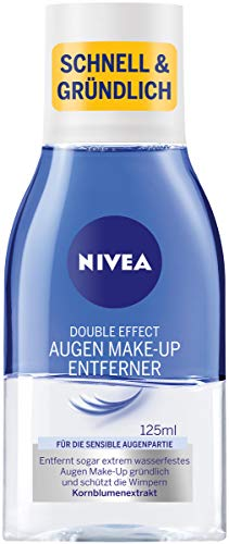 NIVEA Double Effect Augen Make-Up Entferner, 125 ml