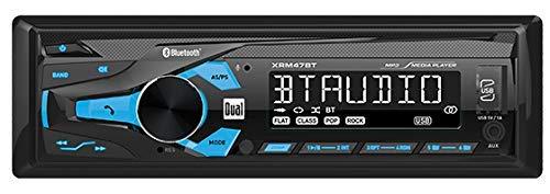 Dual AM/FM 1DIN RCVR/BLTH