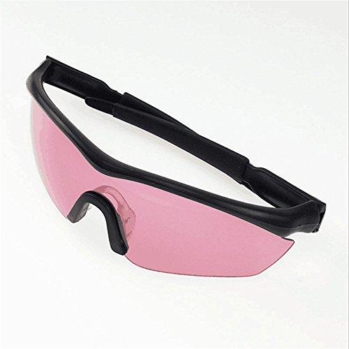 Hy Infrarot-Schutzbrille Rot Shift XT Red-Shift Blendfreie UV Gläser, Rot