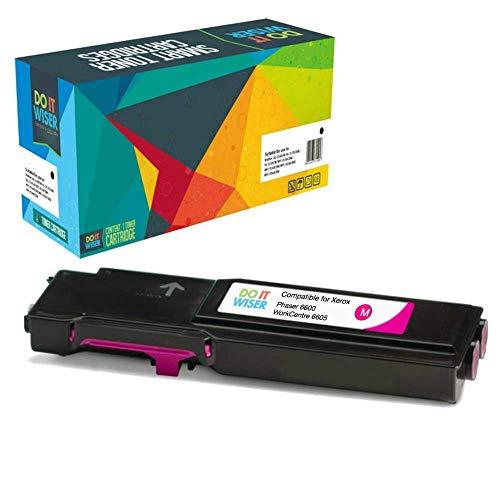 Cartuccia toner Do it wiser compatibile in sostituzione di Xerox WorkCentre 6600, Phaser 6605, WorkCentre 6605dn, WorkCentre 6605n, Phaser 6600n, Phaser 6600dn 106R02230 (Magenta)