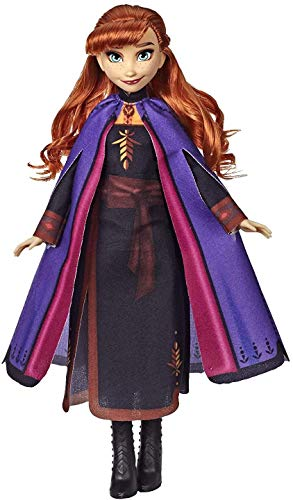 Hasbro Disney Frozen Anna Fashion Doll with Long Red Hair and Outfit Inspired by Frozen 2 - Toy for Kids...