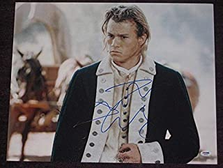 Heath Ledger Signed The Patriot 16x20 Photo - PSA/DNA Authenticated