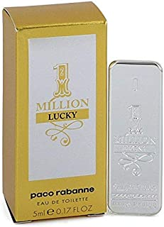 Paco Rabanne 1 Million Lucky By Paco Rabanne For Men Edt, 0.17 Oz Mini
