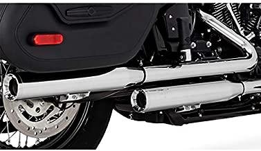 Vance & Hines Eliminator 300 Slip-On Exhaust (Chrome) for 18-19 Harley FLHCS