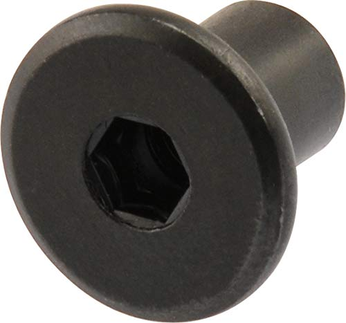 Hillman 57148 Black Oxide Joint Connector Hex Drive Nut, 1/4-20-Inch Thread, 12-Pack