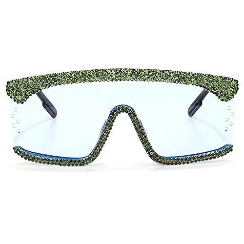 Sonnenbrille Sunglasses Übergroße Sonnenbrille Sonnenbrille Damen One Piece Diamond Sonnenbrille Strass Square Sonnenbrille Herren Luxusmarke Brille Uv400 4