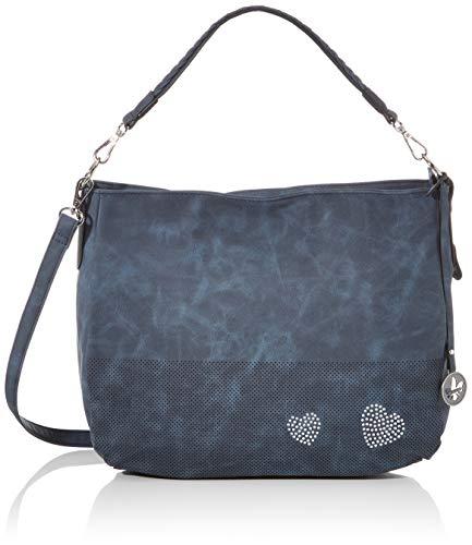 Rieker Damen Handtasche H1392, Blau (Tinte), 280x140x360 cm