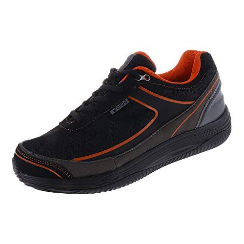 Wellbe Damenschuhe Sneaker Black Orange Berlin (42 EU)