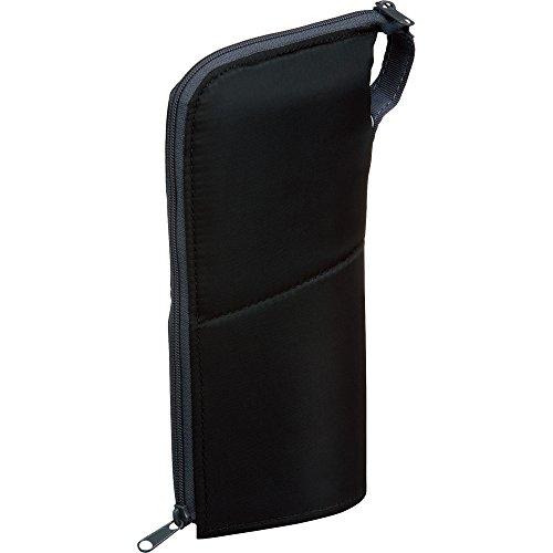コクヨ ペンケース 筆箱 ペン立て ネオクリッツ ラージサイズ ブラック×ダークグレー F-VBF181-1