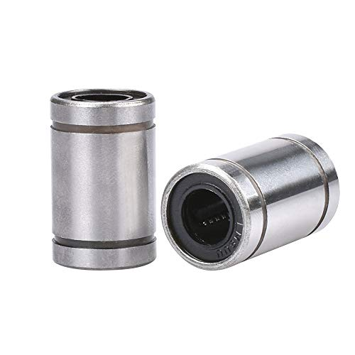 JIAN LIN 8mm 8x15x24mm Ball Bearing Bush Bushing 8mmx15mmx24mm for 3D Printer Parts (Size : 10pcs)