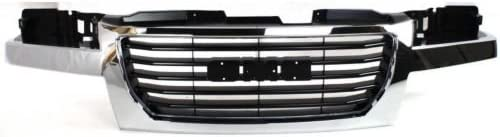 Max 86% OFF Perfect Fit Group G070112 - Canyon Grille Shell I Free Shipping New Black Chrome
